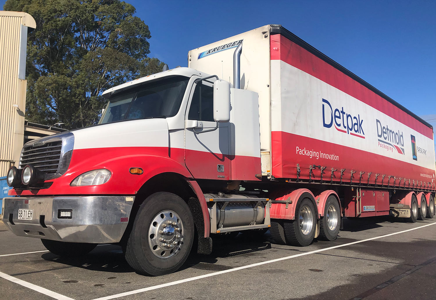 Image of Detmold Group Truck