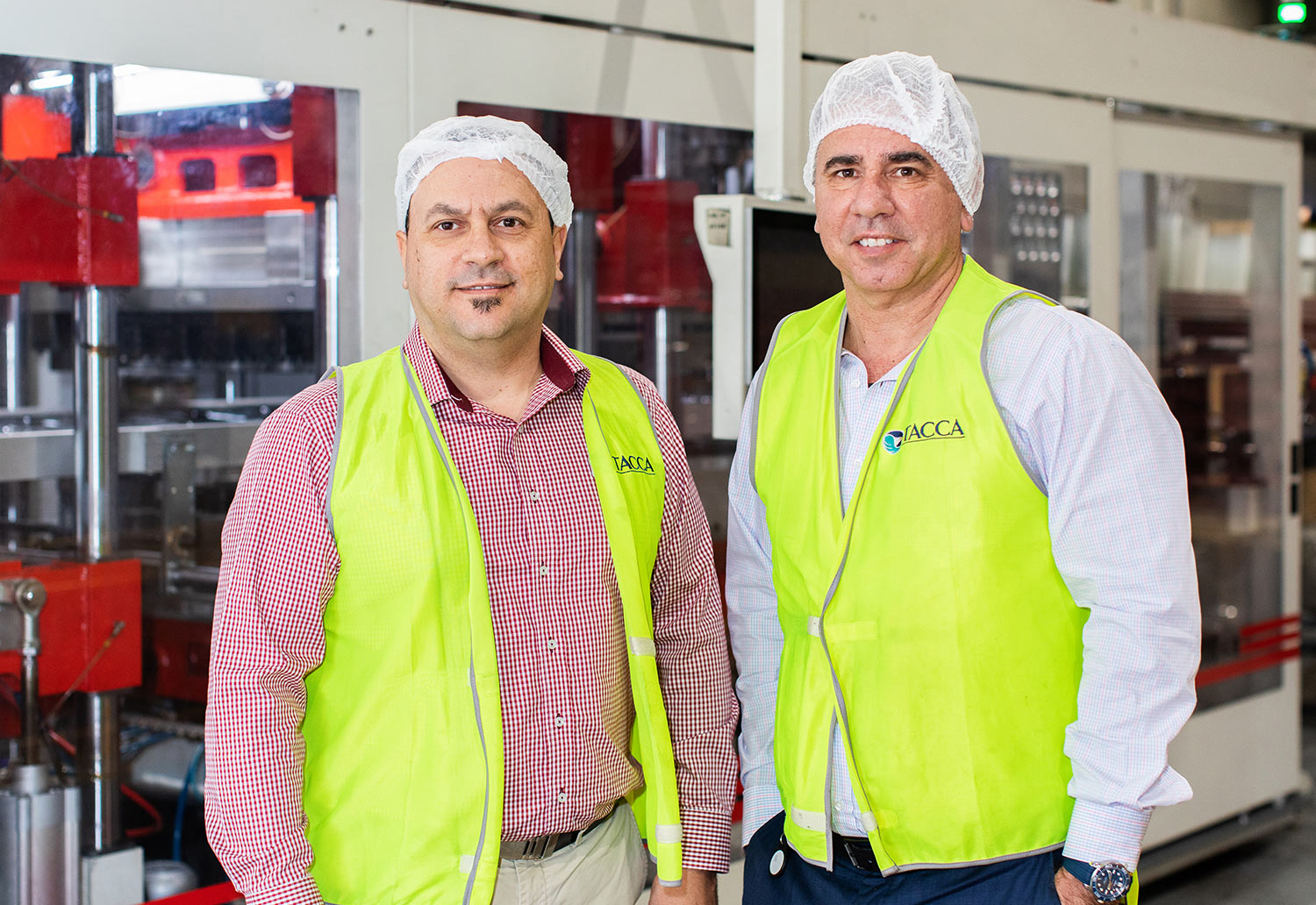 Tacca Industries Managing Director - Domenic Tacca and Chief Executive Officer - Clem Tacca